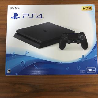 プレイステーション4(PlayStation4)のPS4 CHU-2200AB01 JET BLACK 保証あり 新品未開封(家庭用ゲーム本体)