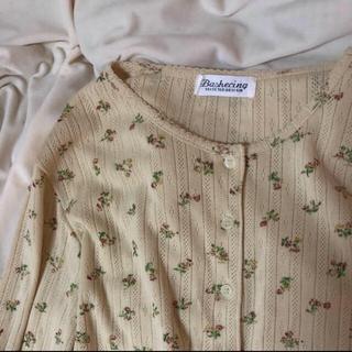 ロキエ(Lochie)のflower thermal 🌷 vintageお値下げ品(Tシャツ(長袖/七分))
