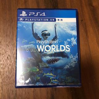プレイステーションヴィーアール(PlayStation VR)のPlayStation VR WORLDS 新品未開封(家庭用ゲームソフト)