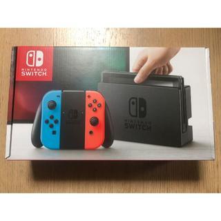 ニンテンドースイッチ(Nintendo Switch)のニンテンドースイッチ 本体 ネオンカラー Nintendo switch(家庭用ゲーム本体)