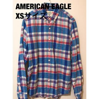 アメリカンイーグル(American Eagle)の【美品・送料無料】『AMERICAN EAGLE』チェックシャツ(シャツ)