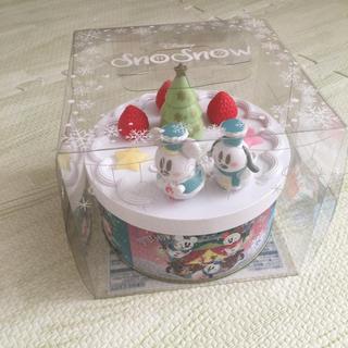 ディズニー(Disney)の11/1 新商品 パイ 雪だるま スノースノー クリスマス ディズニー (菓子/デザート)