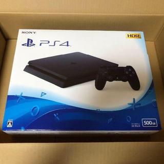新品 PS4 ジェットブラック 500GB CUH-2200AB01(家庭用ゲーム本体)