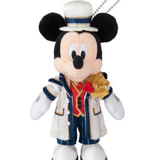 ディズニー(Disney)のイッツクリスマスタイム ミッキーぬいぐるみバッジ❤(キャラクターグッズ)