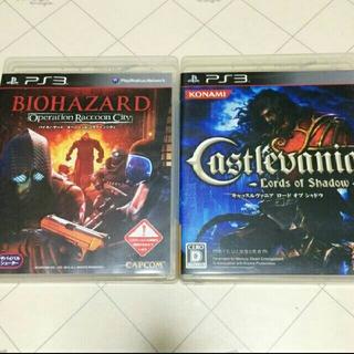 プレイステーション3(PlayStation3)のPS3ソフト キャッスルヴァニアとバイオハザード オペレーション・ラクーンシティ(家庭用ゲームソフト)