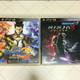 プレイステーション3(PlayStation3)のPS3ソフト NINJA GAIDEN3と戦国BASARA3 宴の2本セット(家庭用ゲームソフト)