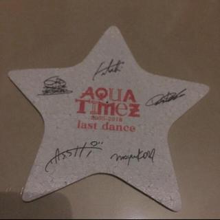 Aqua Timez 横浜アリーナ 落下物 星(ミュージシャン)