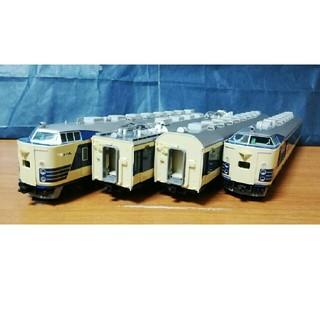 TOMIX HO-018 JR 583系 特急電車 (クハネ581) 基本 4両(鉄道模型)