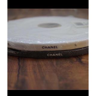 シャネル(CHANEL)の正規品 シャネルリボン   幅1CM  100メートル ブラック(ラッピング/包装)