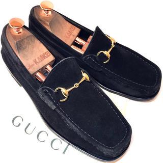 Gucci - 【GUCCI】★美品★グッチ ビットローファー 41サイズ26.0cm相当 革靴