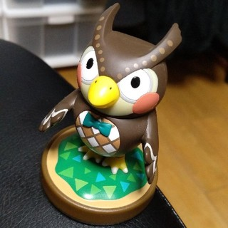ニンテンドウ(任天堂)のどうぶつの森 フータ  アミーボ(ゲームキャラクター)