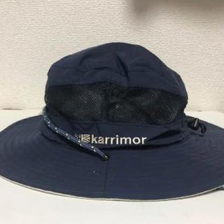 カリマー(karrimor)のカリマー code mesh hat ネイビー(ハット)