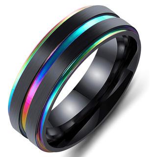 メンズリング タングステン ステンレス指輪 (日本サイズ 14号)(リング(指輪))
