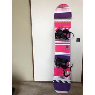 スノーボード板ビンディング