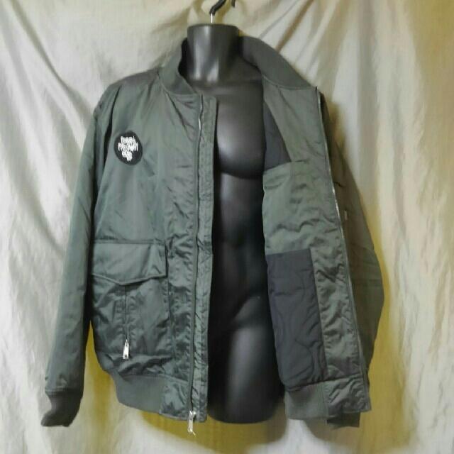 STUSSY(ステューシー)のSTUSSY MA-1 L2B 中綿 フライト ミリタリー 未使用品 メンズのジャケット/アウター(フライトジャケット)の商品写真