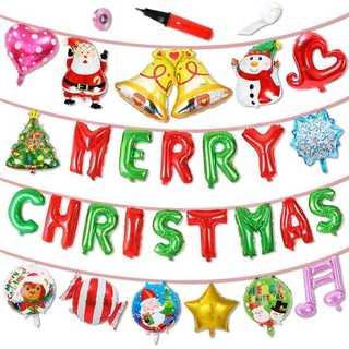 クリスマス♡ 吊るせる風船♡ バルーン(ウェルカムボード)
