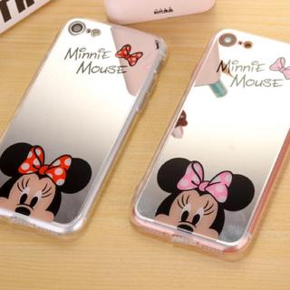 ディズニー(Disney)のミッキー ミニー スマホケース iPhone7 8(iPhoneケース)