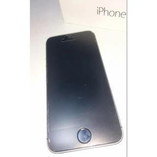 アップル(Apple)のiPhone 5s 64GB au スペースグレー 中古(スマートフォン本体)