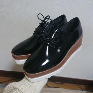 ステラマッカートニー(Stella McCartney)のステラマッカートニー 風 厚底シューズ(ローファー/革靴)