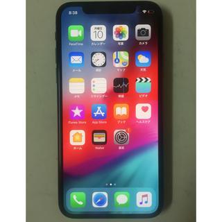 アップル(Apple)のiPhoneX 256GB SIMフリー ブラック 美品 値引き可能(スマートフォン本体)
