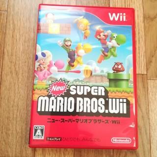 Wii - New スーパーマリオブラザーズ Wii ソフト