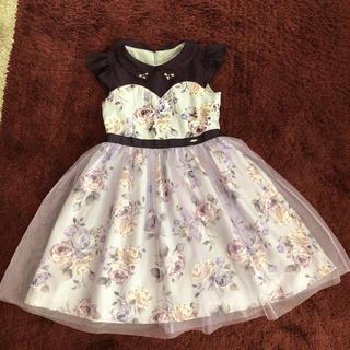アナスイミニ(ANNA SUI mini)のアナスイ  ミニ    ワンピースドレス  サイズ140(ワンピース)
