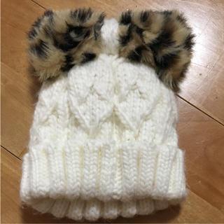 シマムラ(しまむら)のバースデイ  ニット帽 キッズ(帽子)