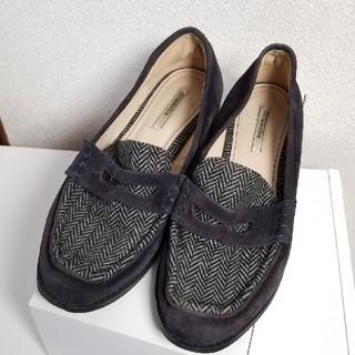 ランダ(RANDA)のスウェードコインローファー♡(ローファー/革靴)