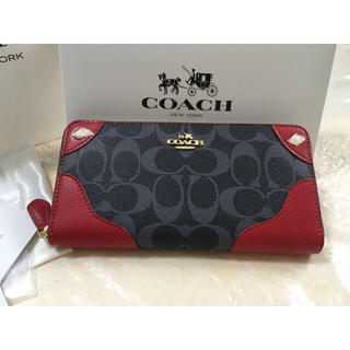 COACH - 即納❗️プレゼントにお勧め❣️COACH 长财布 アウトレット正規品 箱付き