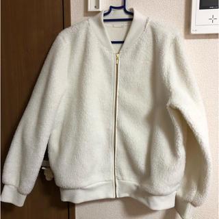 ジーユー(GU)のna_chan.様専用♡GU♡ボアジャケット♡もこもこ♡美品(その他)