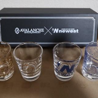 【新品未使用!】AVALANCHE X NEWESTショットグラス