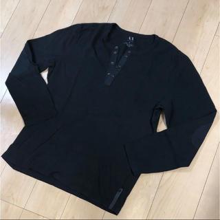 アルマーニエクスチェンジ(ARMANI EXCHANGE)の人気! 未使用 A/X アルマーニ  エクスチェンジ 長袖 トップス   メンズ(Tシャツ/カットソー(七分/長袖))