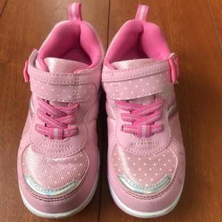 女の子 靴 17.5㎝ 1度のみ仕様(スニーカー)