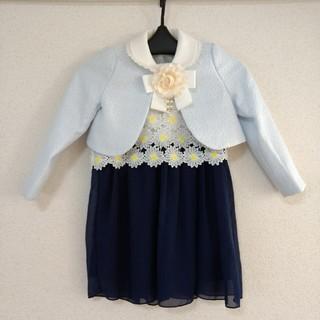 キャサリンコテージ(Catherine Cottage)の120サイズ 卒園式 入学式 4点セット(ドレス/フォーマル)