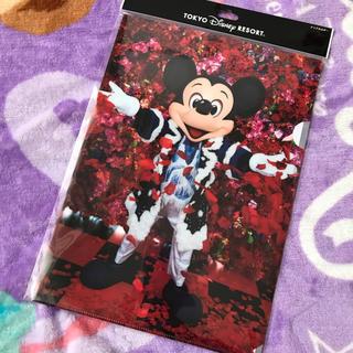 ディズニー(Disney)の新品ミッキー クリアファイル 蜷川実花(クリアファイル)