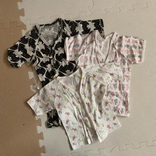 コンビ(combi)の赤ちゃん肌着 3枚セット 60センチ(肌着/下着)