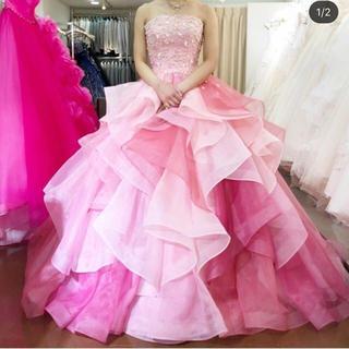 ウエディングドレス カラードレス レインボードレス