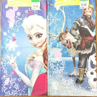 ディズニー(Disney)の【新品、未使用】アナと雪の女王大判ハンカチ size43×43(その他)
