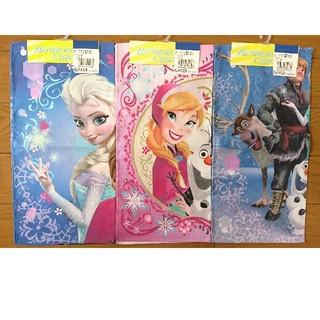 ディズニー(Disney)の【新品、未使用】アナと雪の女王ハンカチ size30×30(その他)