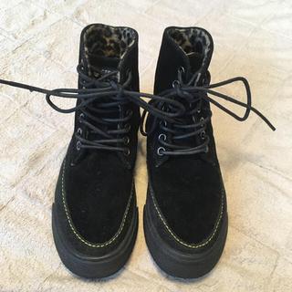 セダークレスト(CEDAR CREST)のCEDAR CREST セダークレスト フェルトブーツ 23センチ(ブーツ)