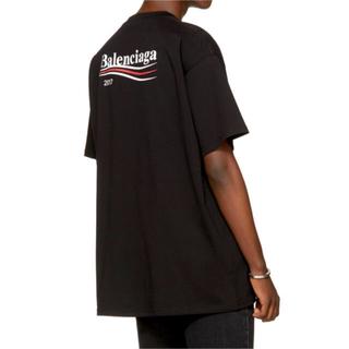 バレンシアガ(Balenciaga)の新品☆BALENCIAGA☆【XS】2017 キャンペーンロゴ オーバーサイズ(Tシャツ/カットソー(半袖/袖なし))