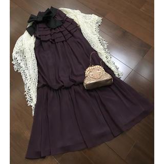 アクアガール(aquagirl)の【CELTIC】ドレス&ショール&バッグ(ミディアムドレス)