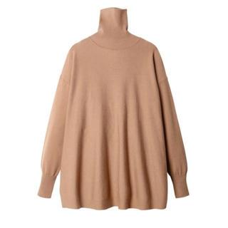 ルシェルブルー(LE CIEL BLEU)のNew Basic Box Knit TOPS タートルネックニットセーター(ニット/セーター)