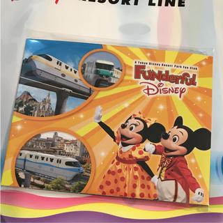 ディズニー(Disney)の新作♡ファンダフル限定 リゾートライン フリーきっぷ 2枚組(鉄道乗車券)