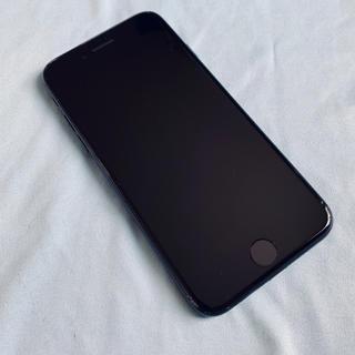 アップル(Apple)のiphone7 256GB SIMロックフリー ジェットブラック(スマートフォン本体)