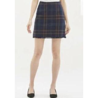 GU - *GUチェック*スカート*
