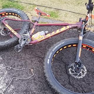 スコット(SCOTT)のスコット ビッグed fat xs(自転車本体)