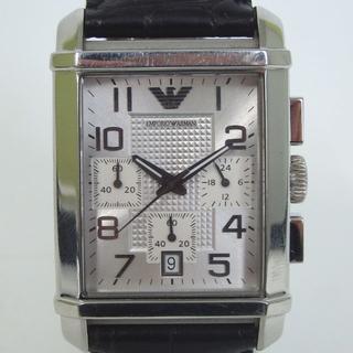 アルマーニエクスチェンジ(ARMANI EXCHANGE)のエンポリオアルマーニ クォーツ腕時計 クロノグラフ 1H-1(腕時計(アナログ))