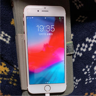 アップル(Apple)のiPhone6s本体☺︎ピンク カバー付☺︎(スマートフォン本体)