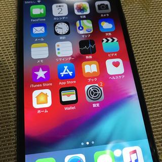 アップル(Apple)のiPhone7 128GB black SIMフリー(スマートフォン本体)